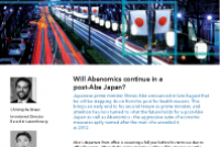 Will Abenomics continue in a post-Abe Japan?