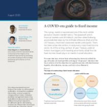 A COVID-era guide to fixed income