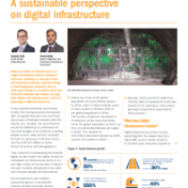 A sustainable perspective on digital infrastructure