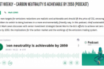 Carbon neutrality is achievable by 2050 (Podcast)