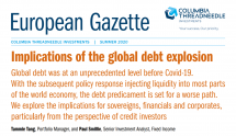 Highlights of last week: ESG and a 'global debt explosion'