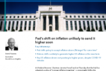 Fed's shift on inflation unlikely to send it higher soon