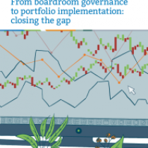 From boardroom governance to portfolio implementation: closing the gap