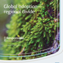 Global adoption— regional divide