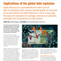 Implications of the global debt explosion