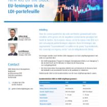 New kid on the block: EU-leningen in de LDI-portefeuille