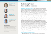 """Redefining """"value"""" for a modern economy"""