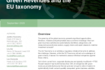 Sizing the green economy: Green Revenues and the EU taxonomy
