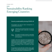 Sustainability Ranking Emerging Countries