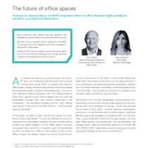 The future of office spaces