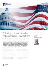 Thinking out loud: market implications of US elections