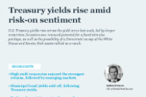 Treasury yields rise amid risk-on sentiment