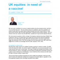 UK equities: in need of a vaccine!