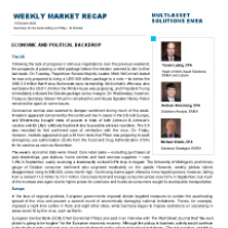 Weekly Market Recap – 19 October 2020