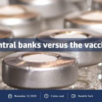 Central banks versus the vaccine
