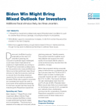 Biden Win Might Bring Mixed Outlook for Investors
