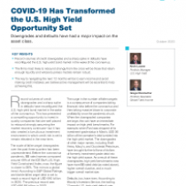 COVID-19 Has Transformed the U.S. High Yield Opportunity Set
