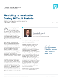 Flexibility Is Invaluable During Difficult Periods