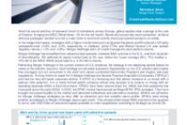 Merger arbitrage firms up despite equity plunge