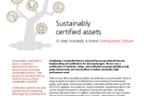 Sustainably certified assets