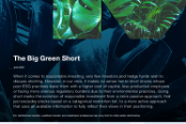 The Big Green Short