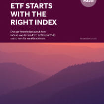 The Right ETF Starts with the Right Index