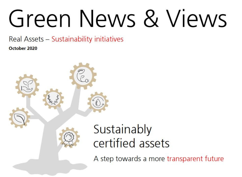 UBS green sustainability