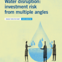 Water disruption: investment risk from multiple angles