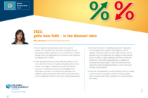2021: gotta have faith – in low discount rates