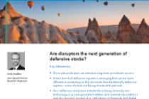 Are disruptors the next generation of defensive stocks?