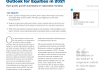 Asia ex‑Japan: Constructive Outlook for Equities in 2021