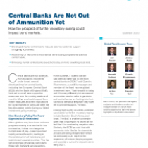 Central Banks Are Not Out of Ammunition Yet