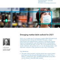 Emerging market debt outlook for 2021