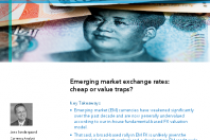 Emerging market exchange rates: cheap or value traps?