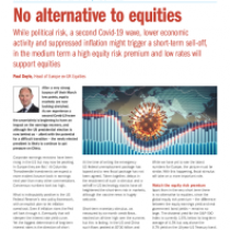 No alternative to equities