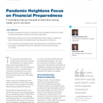 Pandemic Heightens Focus on Financial Preparedness