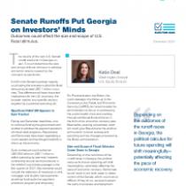 Senate Runoffs Put Georgia on Investors' Minds