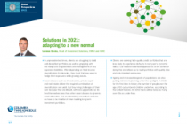 Solutions in 2021: adapting to a new normal