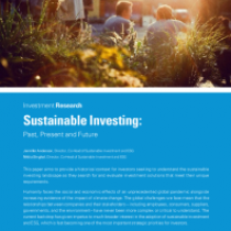 Sustainable Investing: Past, Present and Future