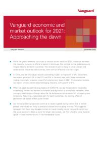 Vanguard's global outlook for 2021