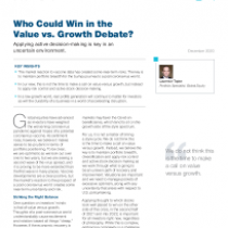 Who Could Win in the Value vs. Growth Debate?