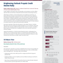 Brightening Outlook Propels Credit Market Rally