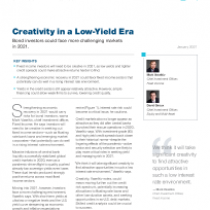 Creativity in a Low‑Yield Era