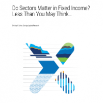 Do Sectors Matter in Fixed Income? Less Than You May Think
