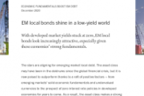 EM local bonds shine in a low-yield world