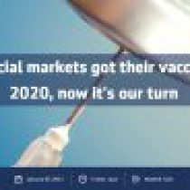 Financial markets got their vaccine in 2020, now it's our turn