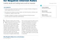 UK Defined Benefit Pension Schemes Should Prepare for Negative Interest Rates