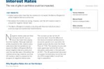UK Investors Should Prepare for Negative Interest Rates