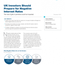 UK Investors Should Prepare for Negative Interest Rates