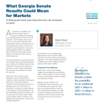 What Georgia Senate Results Could Mean for Markets